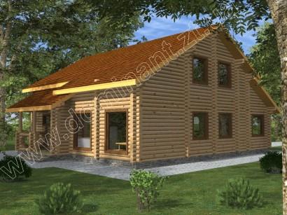 Проекты домов 12х12 из бруса