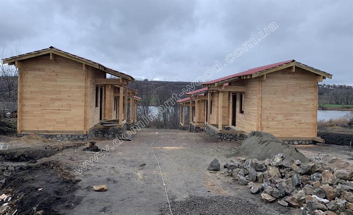 Будиночки з сухого профільованого брусу