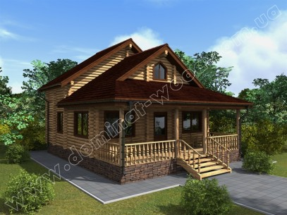 Заміські котеджі: проект нового будинку Кальміс3к - Домінант