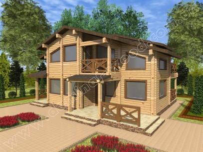 Заміські котеджі: проект нового будинку Лангаран - Домінант