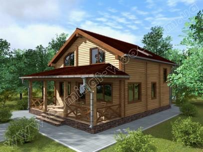 Заміські котеджі: проект нового будинку Малтінс - Домінант