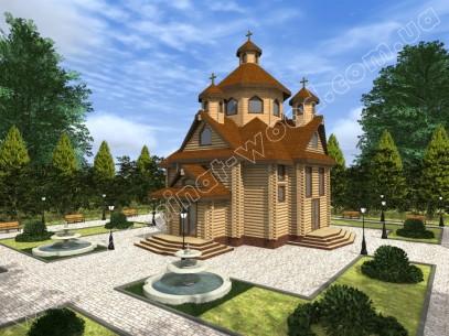 Заміські котеджі: проект нового будинку Мономах  - Домінант