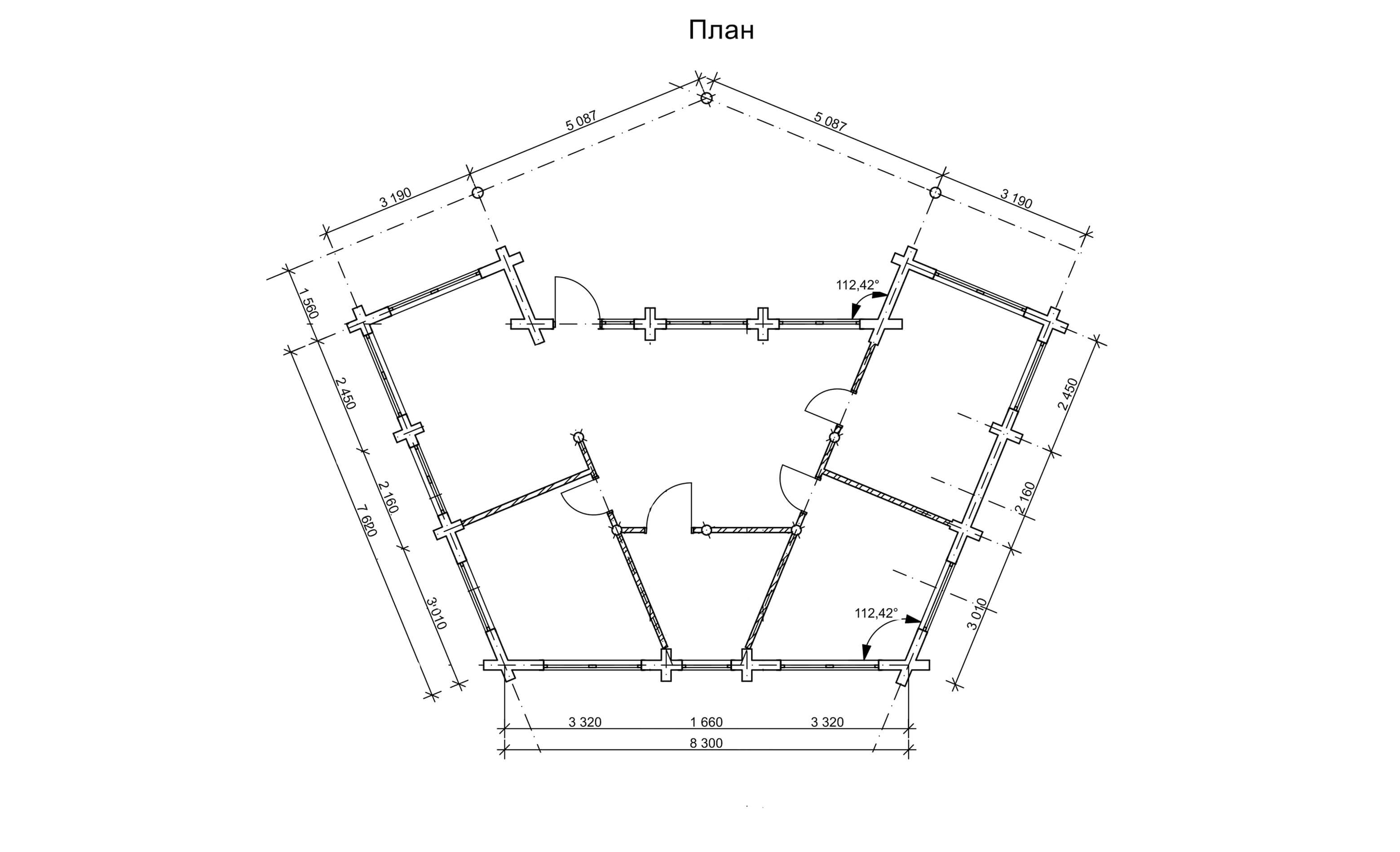 Неординарний проект котеджу «Креміна»