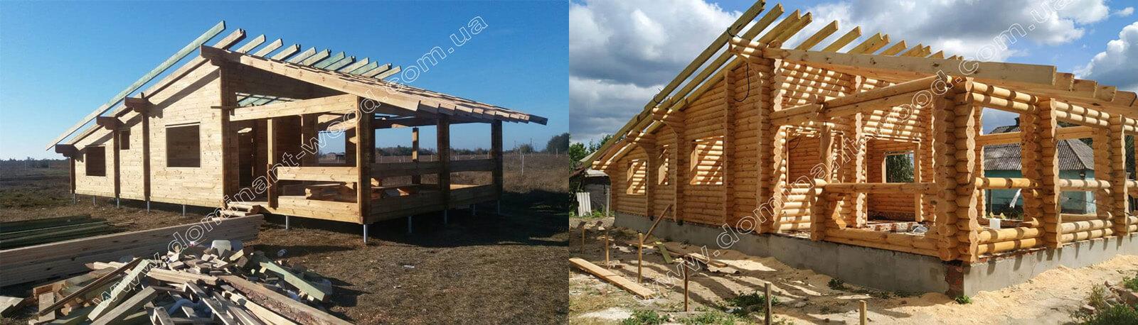 Вибір технології для зведення дерев'яного зрубу