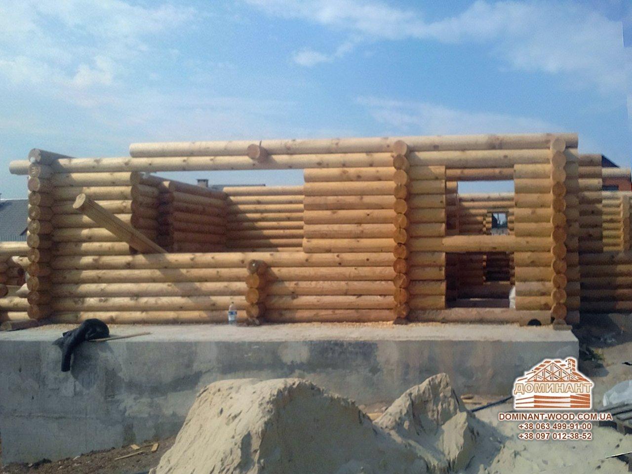 Будування зрубу під замовлення в місті Кривий Ріг