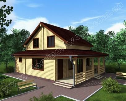 Заміські котеджі: проект нового будинку Семурі2к - Домінант