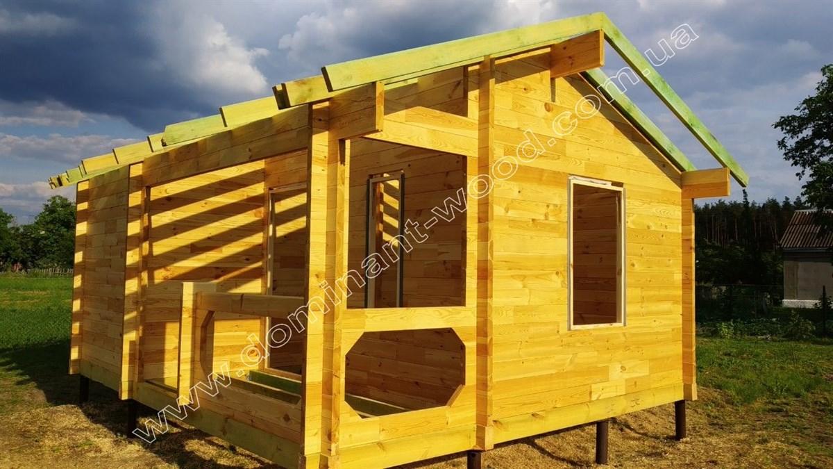 Літній будиночок з брусу «Барнабіс»