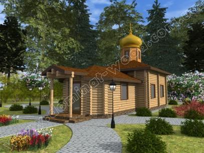 Заміські котеджі: проект нового будинку Трапезна - Домінант