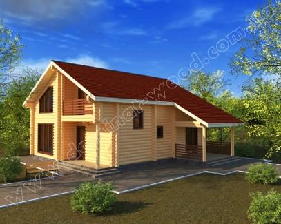 Заміські котеджі: проект нового будинку Зуена - Домінант