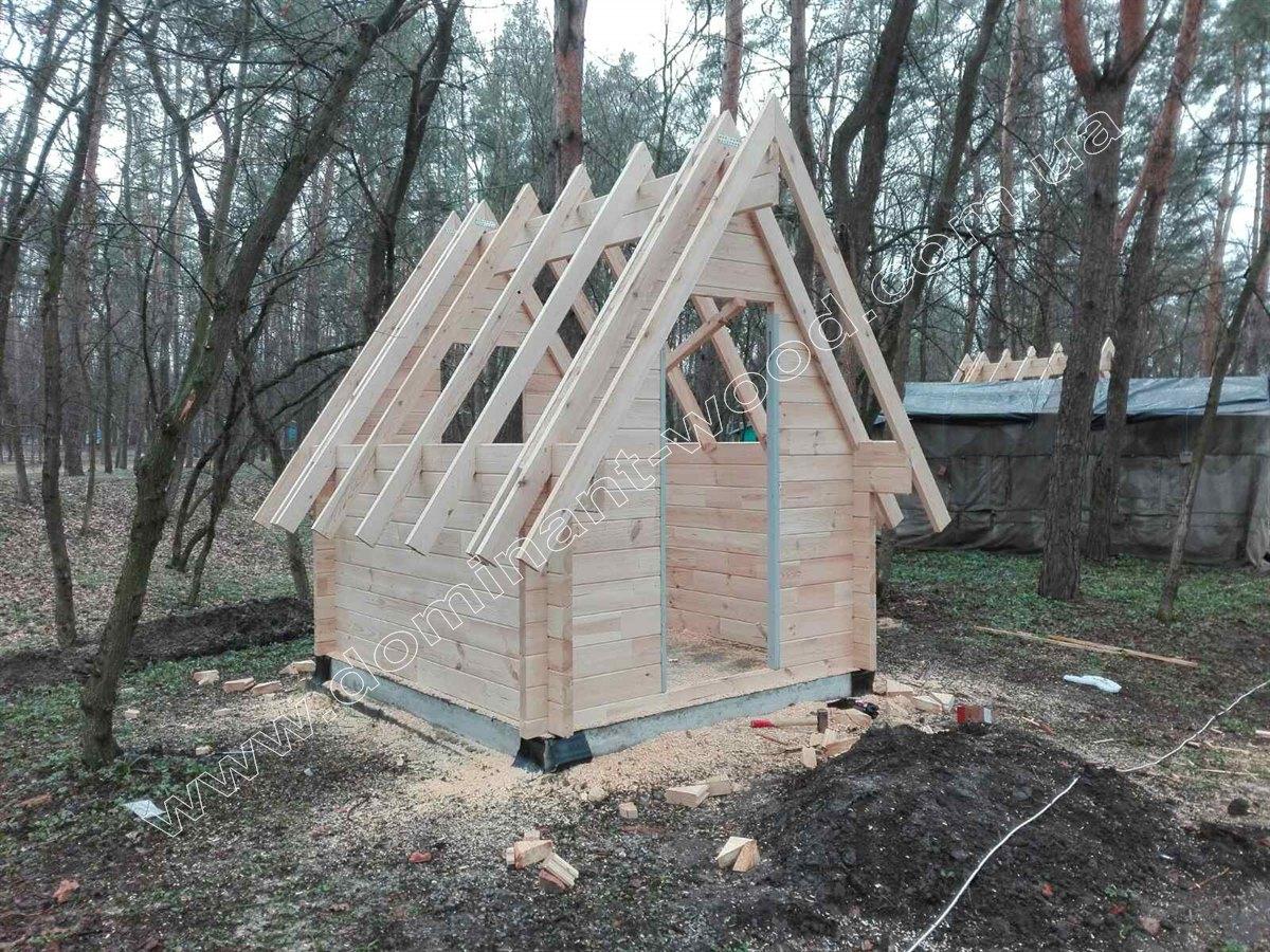 дерев'яний будиночок-студія – «Байна»