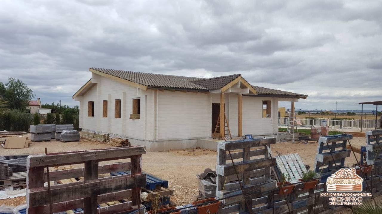 Реалізація проекту дерев'яного будинку
