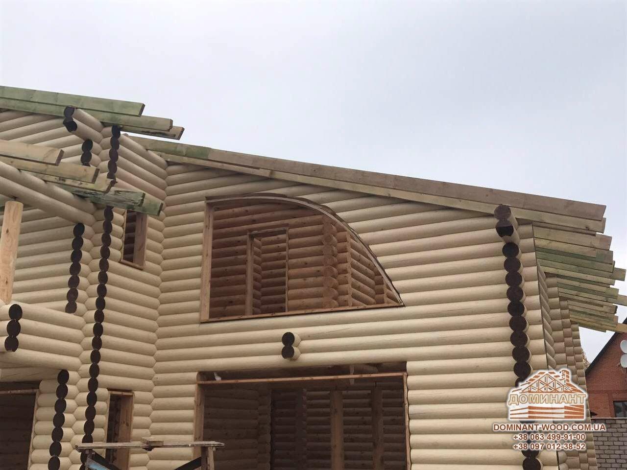 Постройка сруба под заказ в Криво Рог
