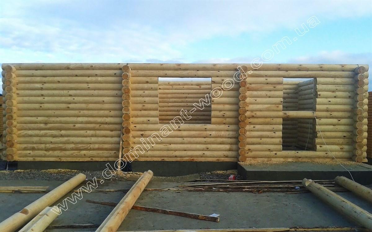 Дерев'яна баня «Дороза»