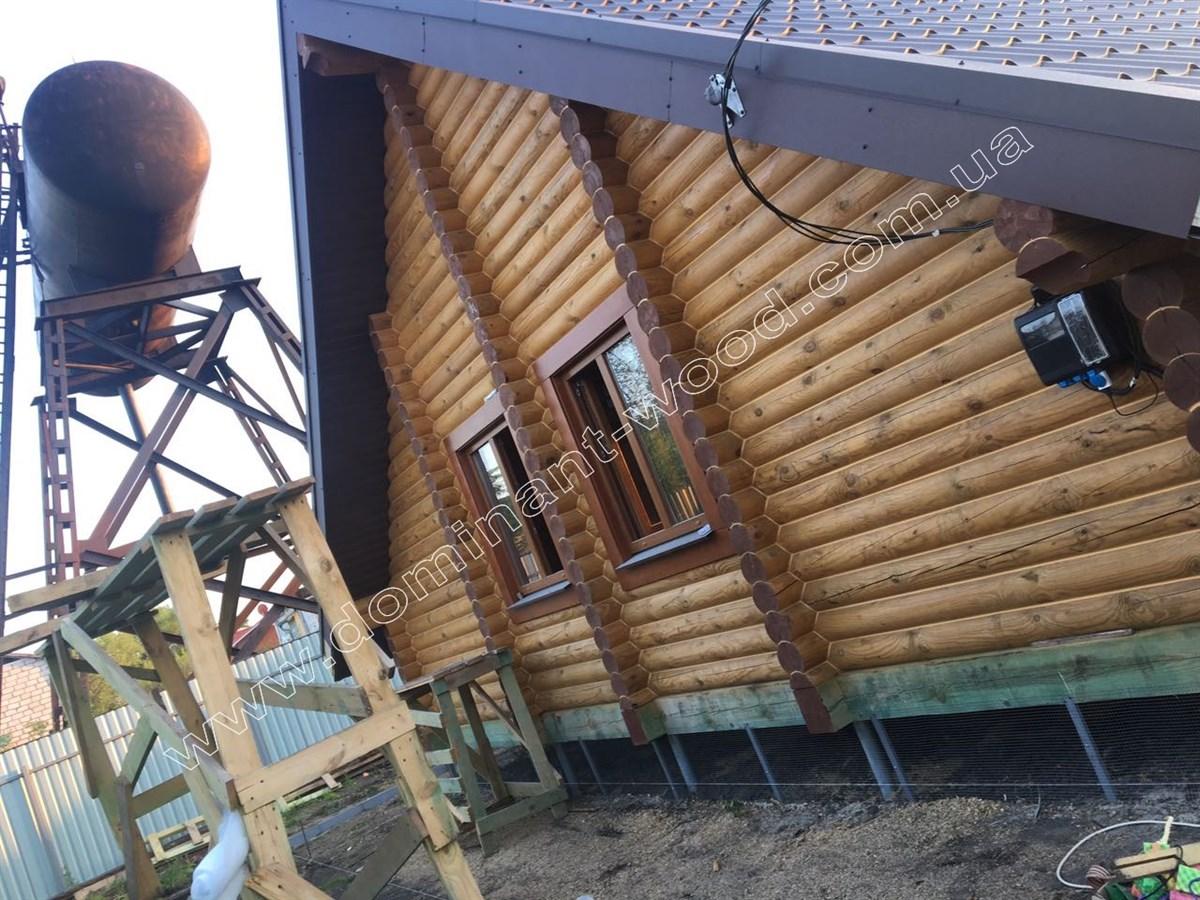 Дерев'яний котедж «Лекід3»
