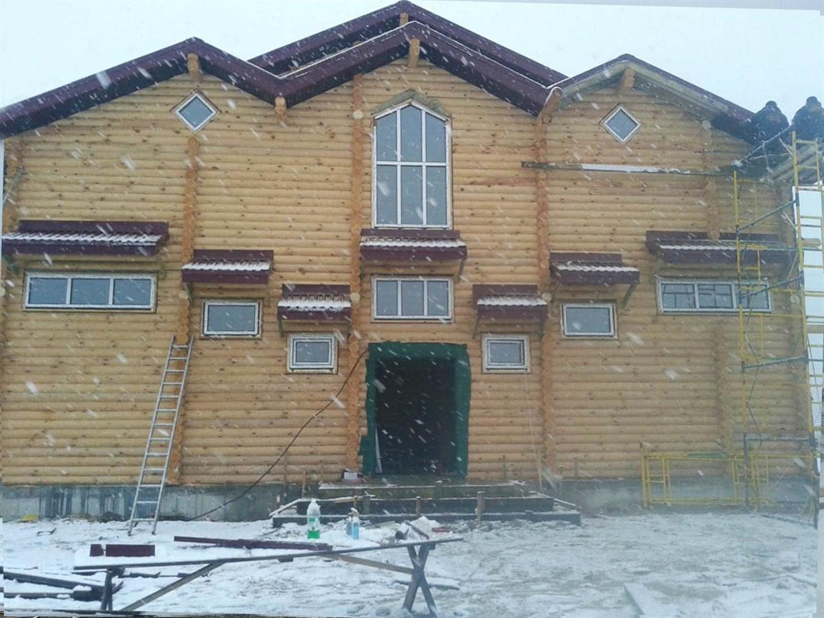 проект дерев'яної синагоги