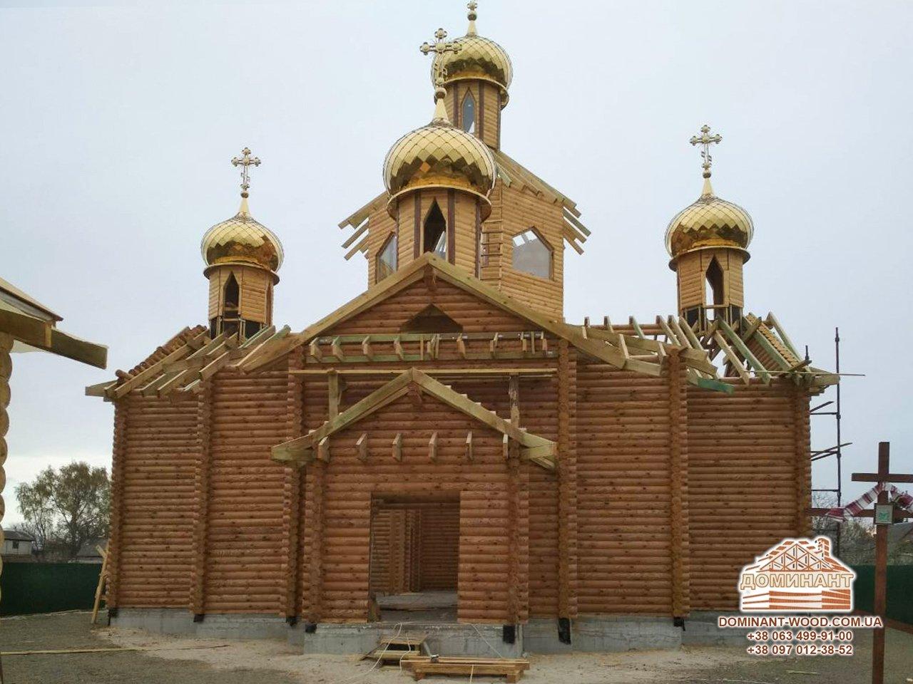 проект деревянной церкви