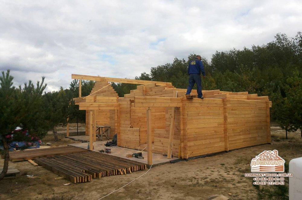 Швидкість і легкість установки будинку з брусу