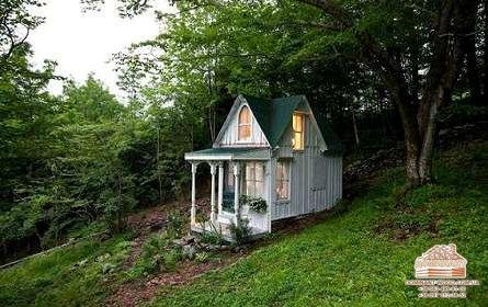 20 найменших дерев'яних будиночків на світі