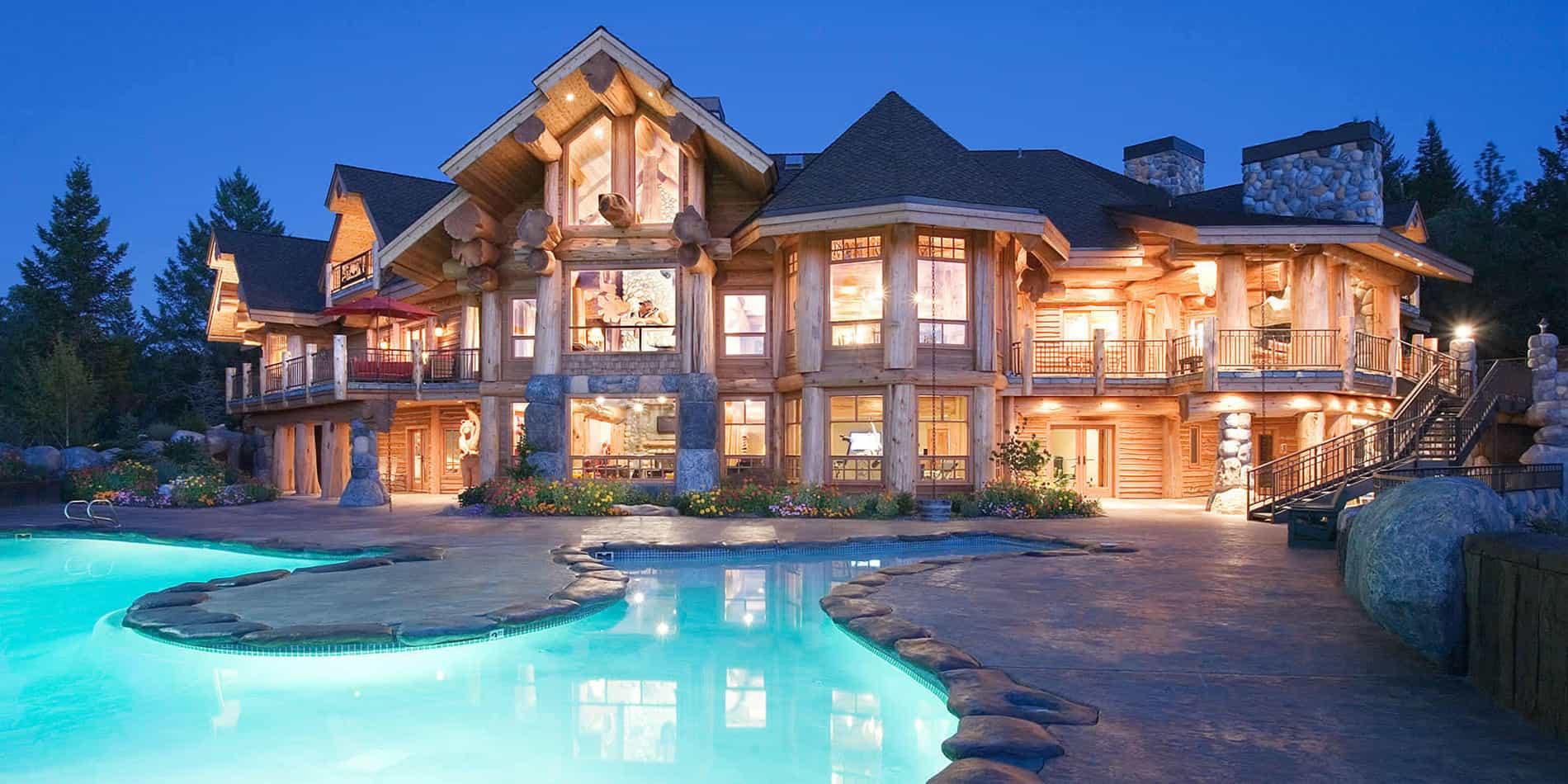 Деревянные дома в США