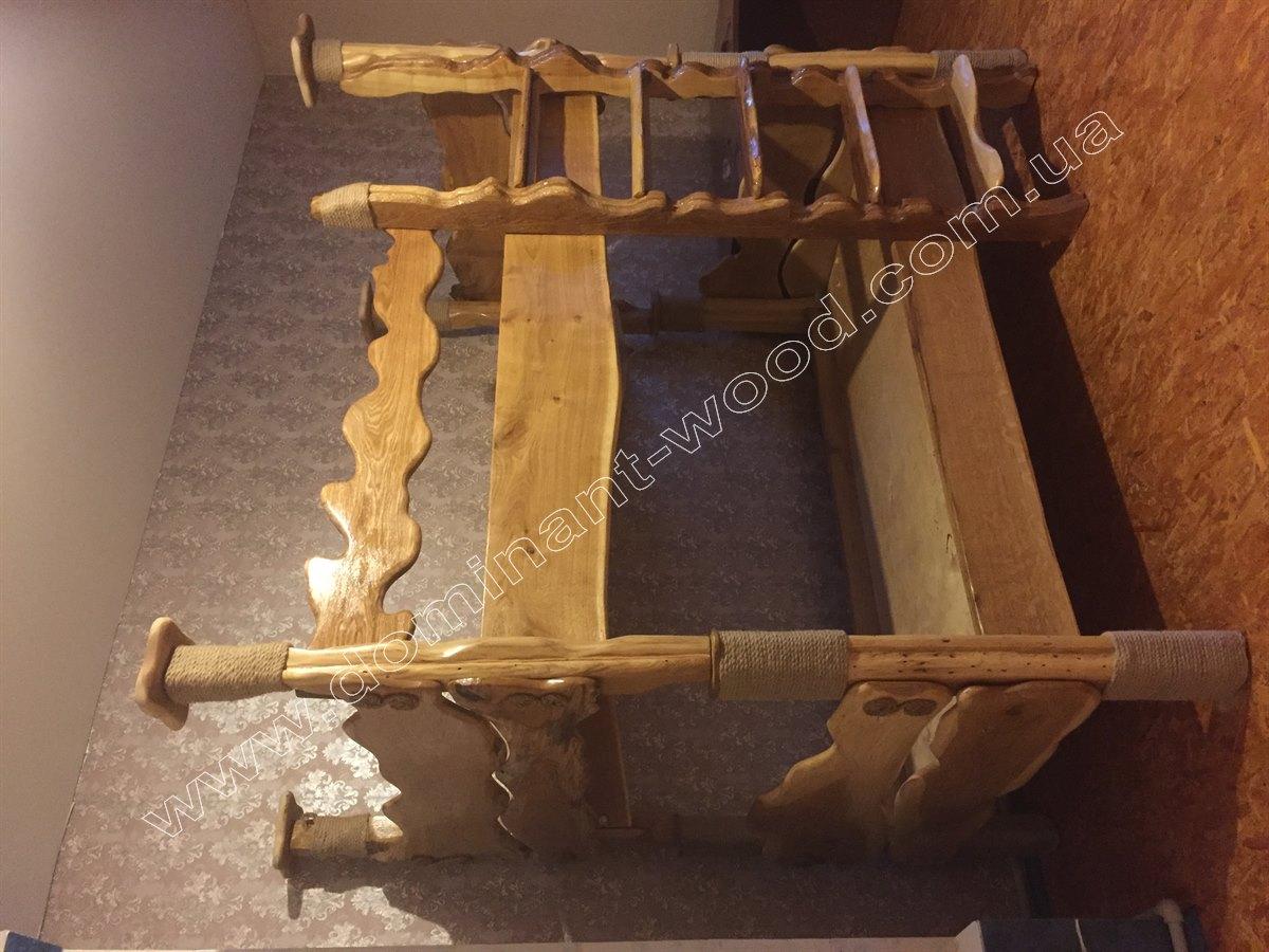 Двох'ярусне ліжко в дитячу кімнату