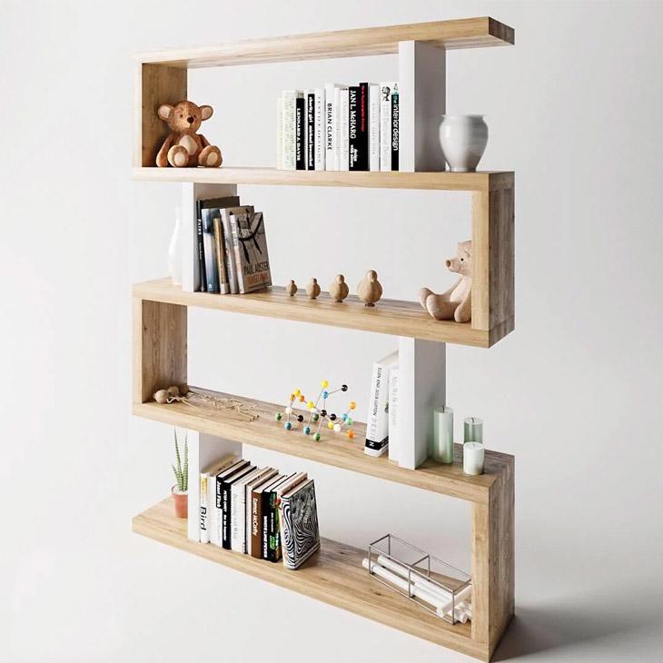 інтер'єр за допомогою книжкових полиць