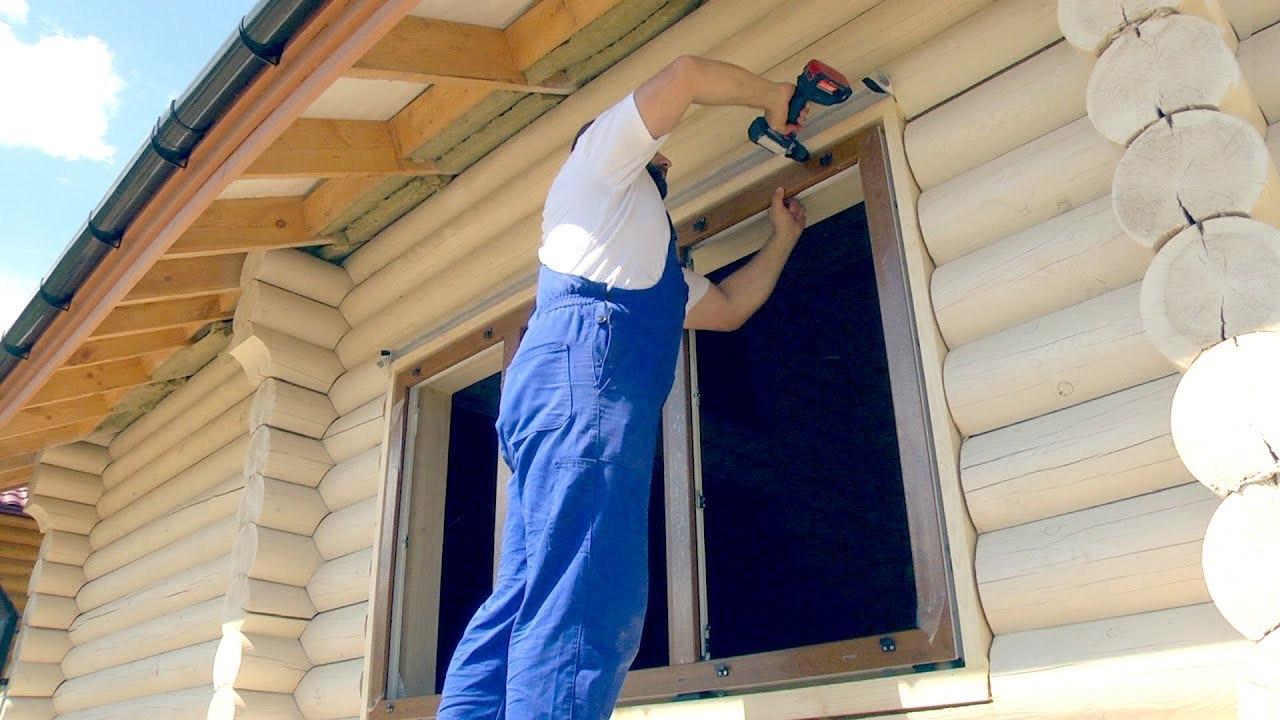 Якість установки вікон і дверей