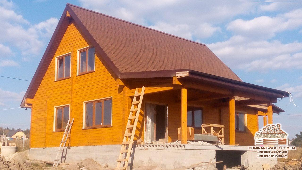 Матеріал для зведення дерев'яного будинку