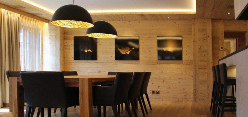 свет в деревянном доме