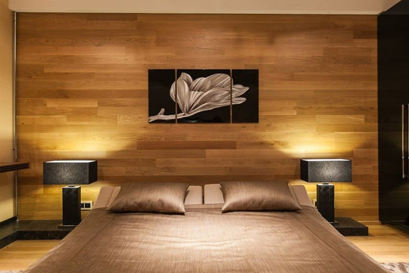 Облицювання стін меблевим щитом