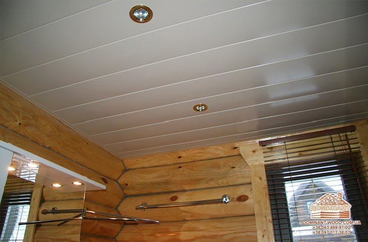 Подвесной потолок своими руками из пластика