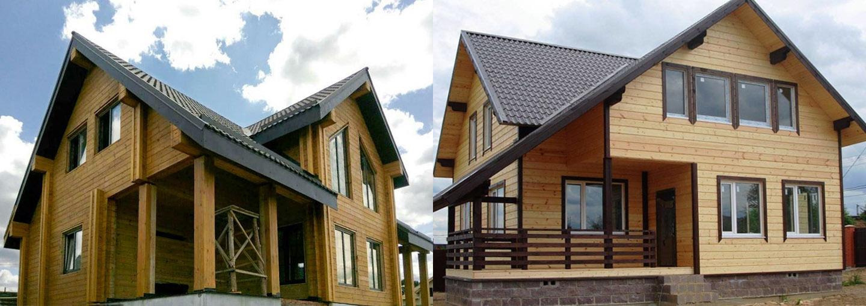 Чим відрізняється будинок з подвійного брусу з утепленням від каркасного будинку?