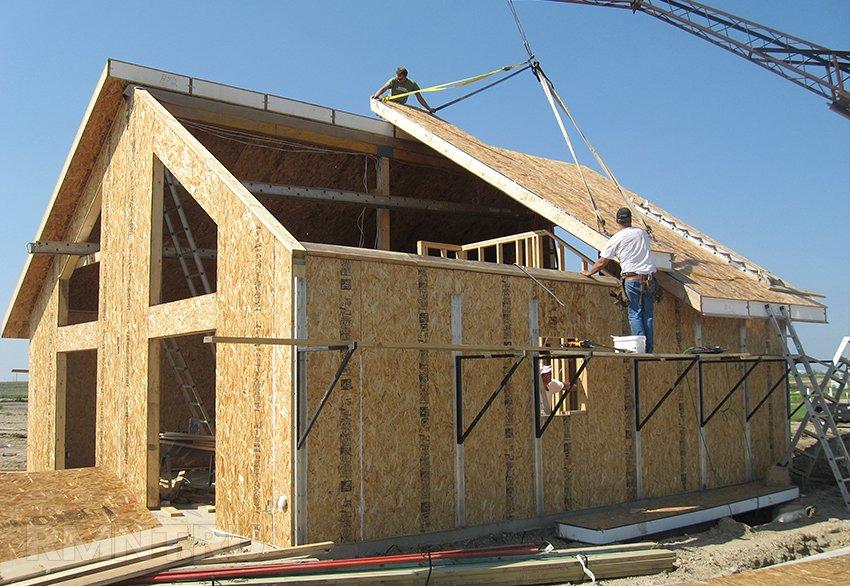 Каркасне будівництво з SIP панелей