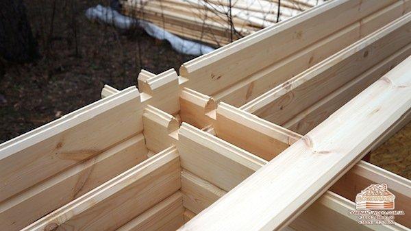 Новая идея деревянного домостроения - двойной брус