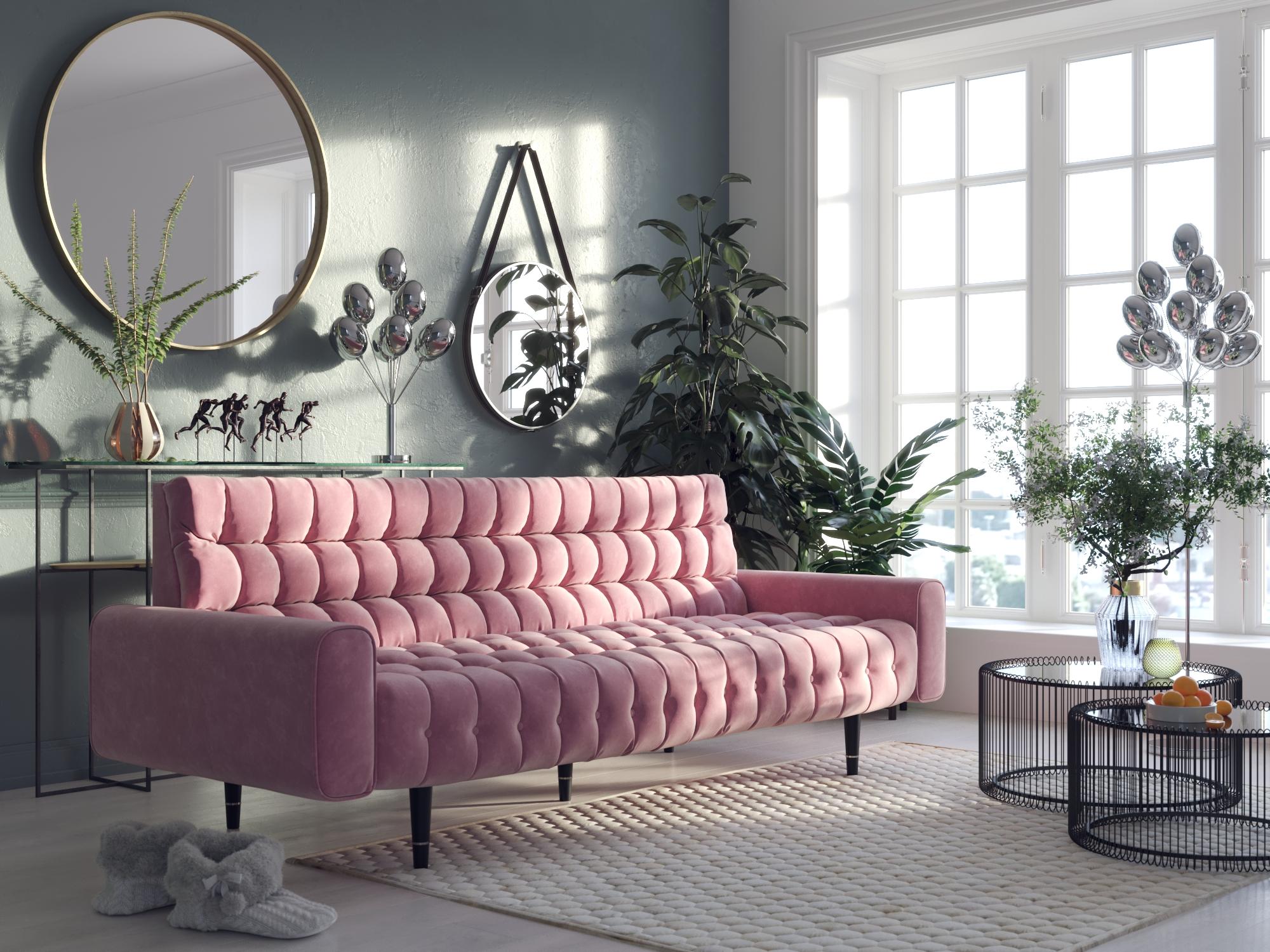 Зелений + рожевий