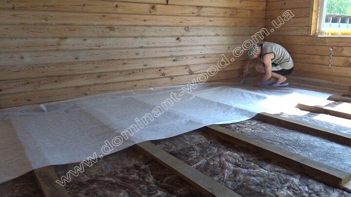 шар пароізоляції для підлоги