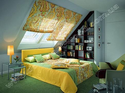 шторы для мансардных окон