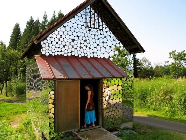 мініатюрний дзеркальний будиночок
