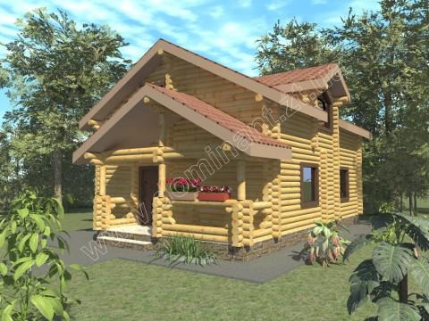 Будинок біля лісу